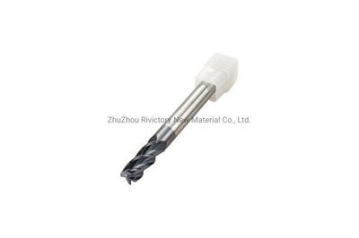 Carbide Raw Material CNC Router Wood Bit Single Flute Carbide Spiral End Mill